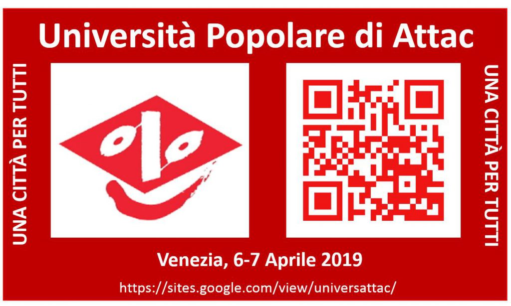 Università_ATTAC 2019 Venezia